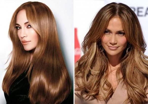 Кому идет шоколадный цвет волос